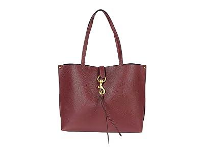 Rebecca Minkoff Megan Tote (Cherrywood) Handbags