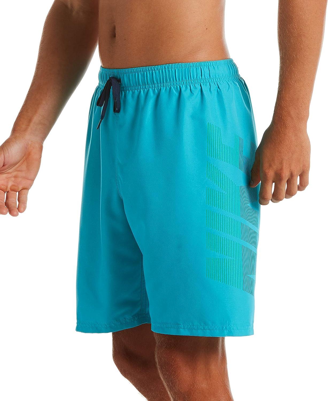 Nike Mens Logo Volley Short Swim Trunk Swim Trunks