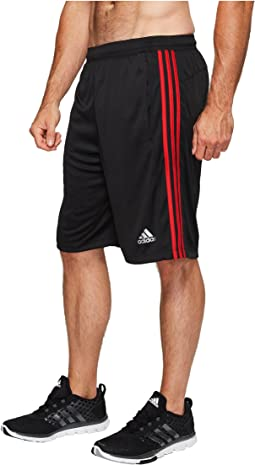 adidas Big & Tall Designed-2-Move 3-Stripes Shorts