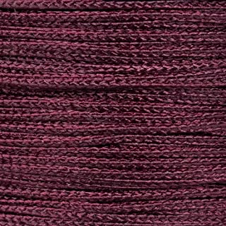 PARACORD PLANET Micro Cord 1.18mm Diameter 125 Feet Spool of Braided Cord - Available in a Variety of Colors Made in The USA (Burgundy)