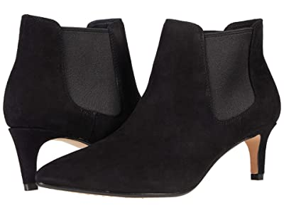 Clarks Laina55 Boot 2 (Black Suede) Women