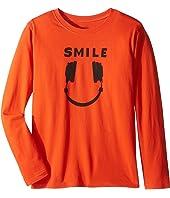 Life is Good Kids - Headphone Smile Long Sleeve Tee (Little Kids/Big Kids)