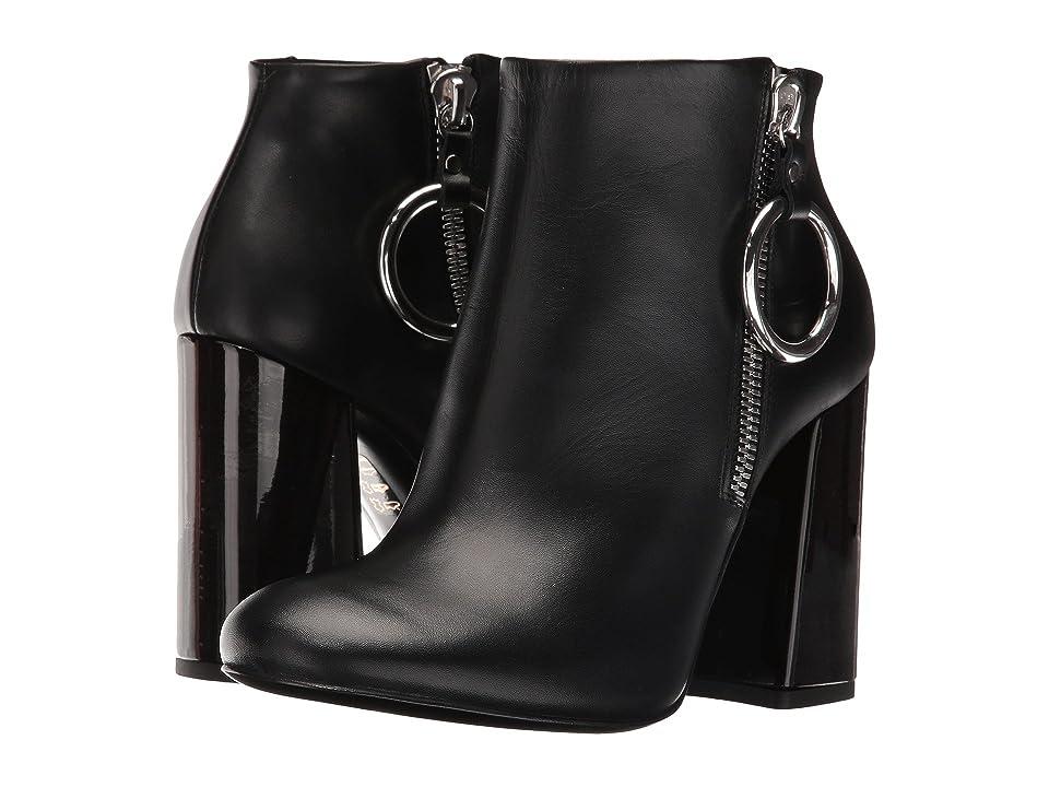 McQ Pembury Harness Boot (Black Smooth Calf) Women