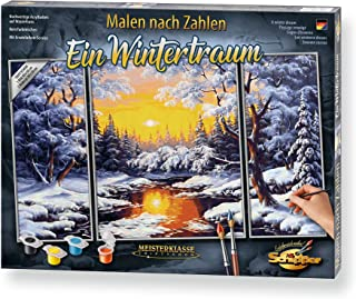 Schipper Malen nach Zahlen - Ein Wintertraum