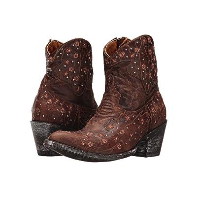 Old Gringo Bayrionne Zipper (Brass) Cowboy Boots