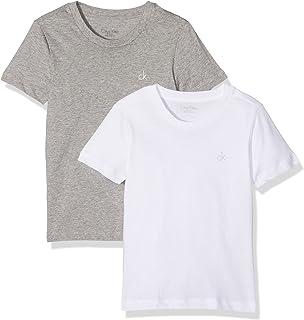 Calvin Klein SS Tee T-Shirt (Pacco da 2) Bambino