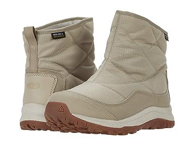 KEEN Terradora II Ankle Pull-On Waterproof (Plaza Taupe/Silver Birch) Women