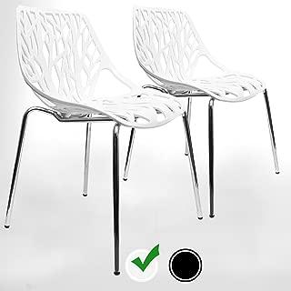 Best white modern chair Reviews