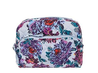 Vera Bradley Medium Cosmetic (Petite Neon Blooms) Cosmetic Case