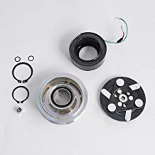 NICECNC AC A/C Compressor Clutch Repair Hub,Pulley,Coil,Bearing Kit Replace H-onda CR-V 2.4L Engine ALL MODELS 2007 2008 2009 2010 2011
