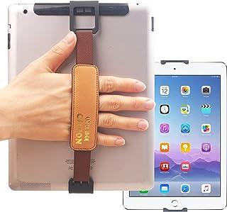 WiLLBee CLIPON 2 DUAL للجهاز اللوحي PC 7~11 بوصة (بني) حلقة إصبع ذكية لتثبيت اليد حزام قبضة حزام - iPad Pro 10.5 9.7 Air m...