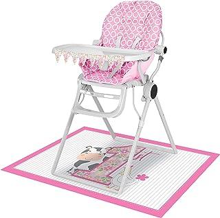 Creative Converting 340503 Farmhouse 1st Birthday Girl High Chair Kit
