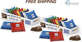 Mini Chocolate Sweets - Chocolate Colourful Variety 2 x 150 g, Ritter Sport/Germany