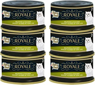 PURINA Fancy Feast Royale Seafood And Chicken - Pack Of 6, 6 x 85 gm