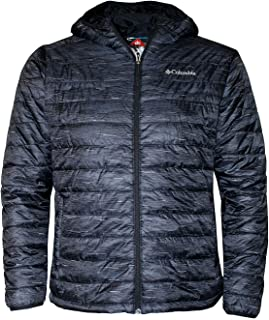 Columbia Men's Crested Butte Omni-Heat Hooded Jacket, Blue