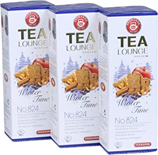 Teekanne Tealounge Kapseln - Winter Time No. 824 Früchtetee 3x 8 Kapseln