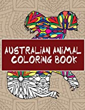 Australian Animal Coloring Book: 30 Beautiful Animal Pages to Color