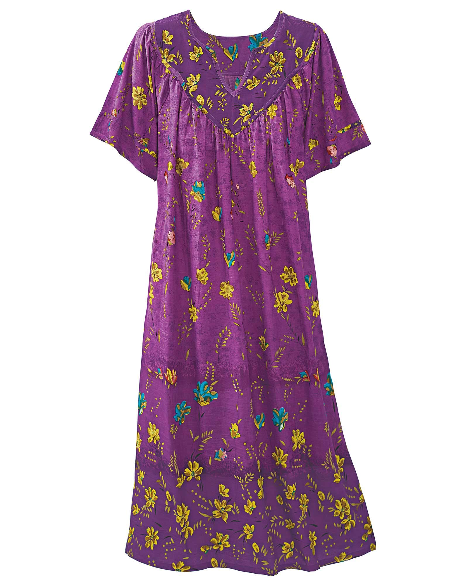 Available at Amazon: National Ombre Floral Lounge Dress