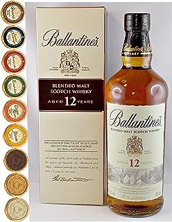 Ballantines 12 Jahre Blended Malt Whisky  9 Edel Schokoladen 9 Sorten