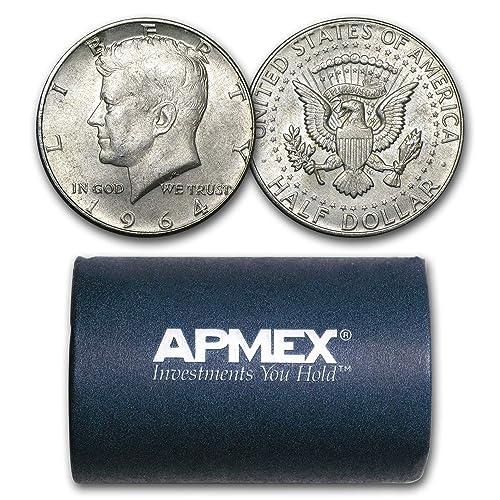 MAKE OFFER $2.00 Face Value 1964 Kennedy Roosevelt Walking Junk 90/% Silver Coins