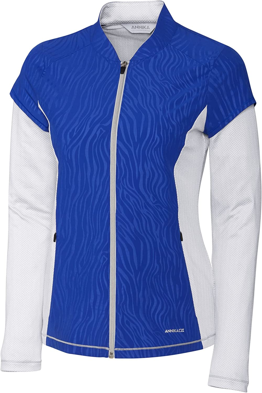 Cutter Buck Women's Weathertec Recommendation Long Hybrid Jac Bargain sale Sleeve Full Zip