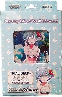 Weiss Schwarz Re:Zero English Trial Deck+