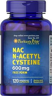 Puritan's Pride N-Acetyl Cysteine (NAC) 600 mg, 120 Capsules