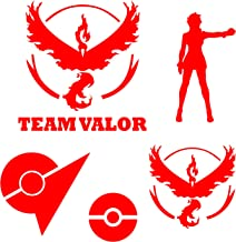 Team Valor Red Decal Multi-Pack (Valor)