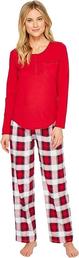 Jockey - Knit Pajama Set