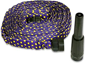 HydroHose 50 ft. Designer Series with Adjustable Nozzle (Purple Polka Dot)