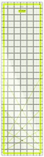 ARTEZA Quilting Ruler, Laser Cut Acrylic Quilters' Ruler with Patented Double Colored Grid Lines for Easy Precision Cutting,6.5