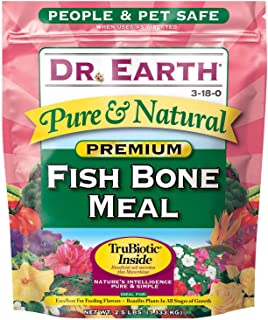 Dr. Earth Pure & Natural Fish Bone Meal 2.5 lb