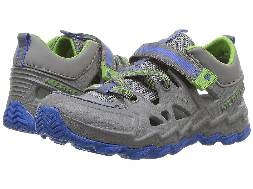 Merrell Kids Hydro 2.0 (Toddler/Little Kid) (Grey/Blue) Boys Shoes