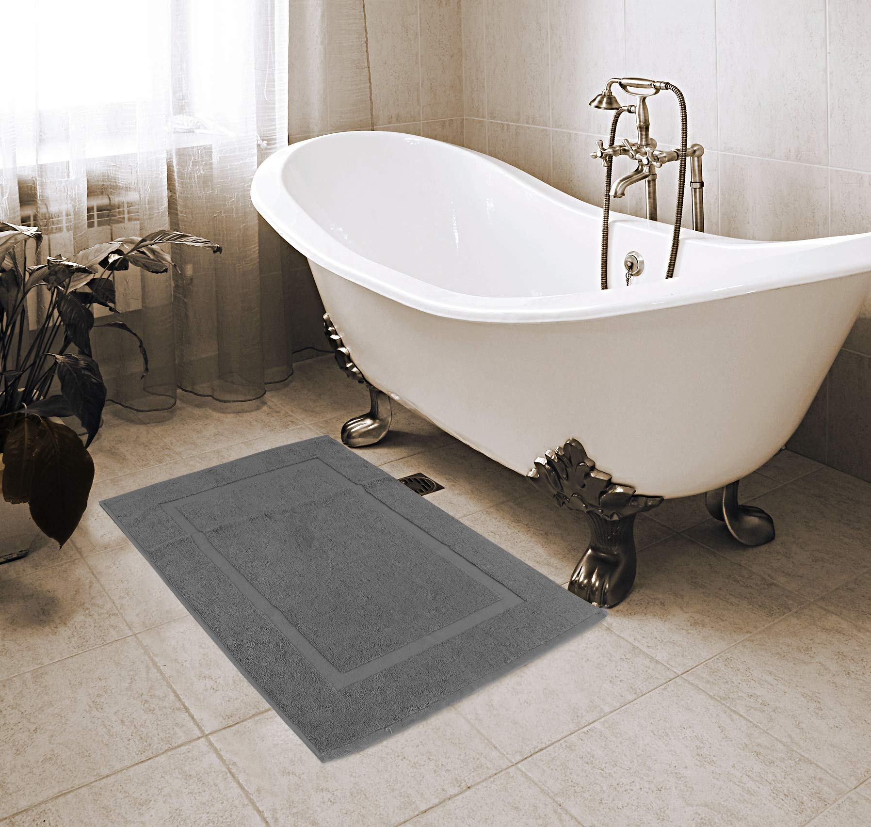 Utopia Towels - 2 Alfombrillas de baño, Alfombra baño - 100 ...