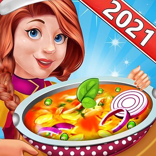 Chef indiano estrela cozinha - jogos de culinária de restaurante grátis para meninas