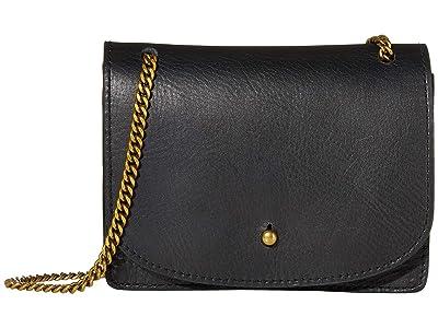 Madewell The Chain Crossbody Bag (True Black) Handbags