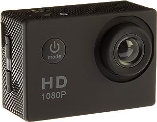 Action Camera, 12MP 1080P 2 Inch LCD Screen, Waterproof Spor