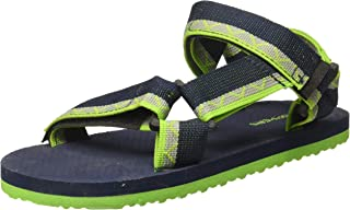 Poppers by Pantaloons Boy's Navy Outdoor Sandals-1.5 Kids UK (34 EU) (880000999)