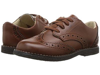 FootMates Logan (Toddler/Little Kid) (Cognac Burnished) Boys Shoes