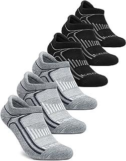 Tesla Men's 6-Pairs Atheltic Sports Socks No-Show (6 Pack) MZS