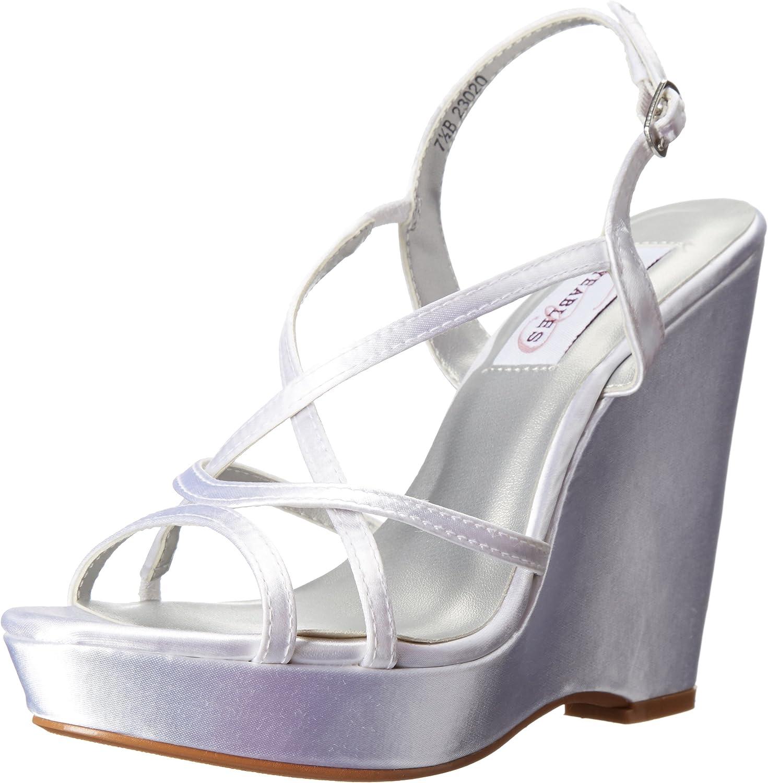 Dyeables, Inc Womens Dee Wedge Sandal