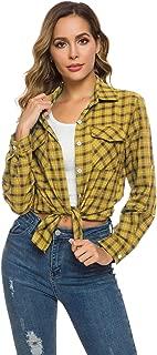 Best gingham plaid shirt womens Reviews