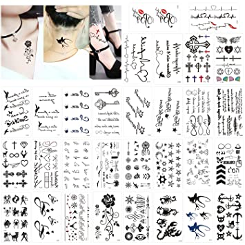 Tattoos männer frauen arm 8 Blätter