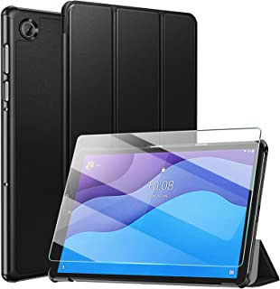 ZtotopCase Funda para Lenovo Tab M10 HD (2.a generación) TB-X306X/TB-X306F +1 Cristal Templado, Funda Protectora Plegable ...