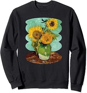 Van Gogh Sunflowers Cute Yellow Flowers Art Painting Gift Sweatshirt