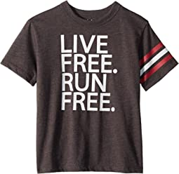 Vintage Jersey Live Free Tee (Little Kids/Big Kids)