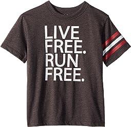 Chaser Kids Vintage Jersey Live Free Tee (Little Kids/Big Kids)