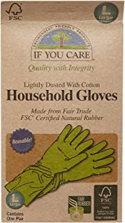 Iyc Gloves Latex-Lg Fair Size Lg Gloves Latex Household -Ifyc Lg Fair Trade Certified