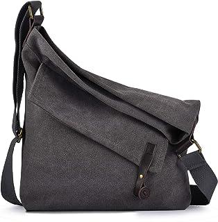 COOFIT Canvas Bag for Women Crossbody Bag Messenger Bag Shoulder Bag Hobo Bag Unisex