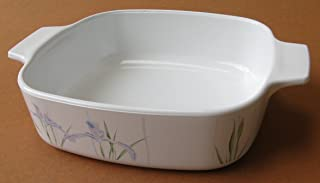 Corning Ware Shadow Iris Square Casserole / No Lid ( 1 Quart ) ( A-1-B )